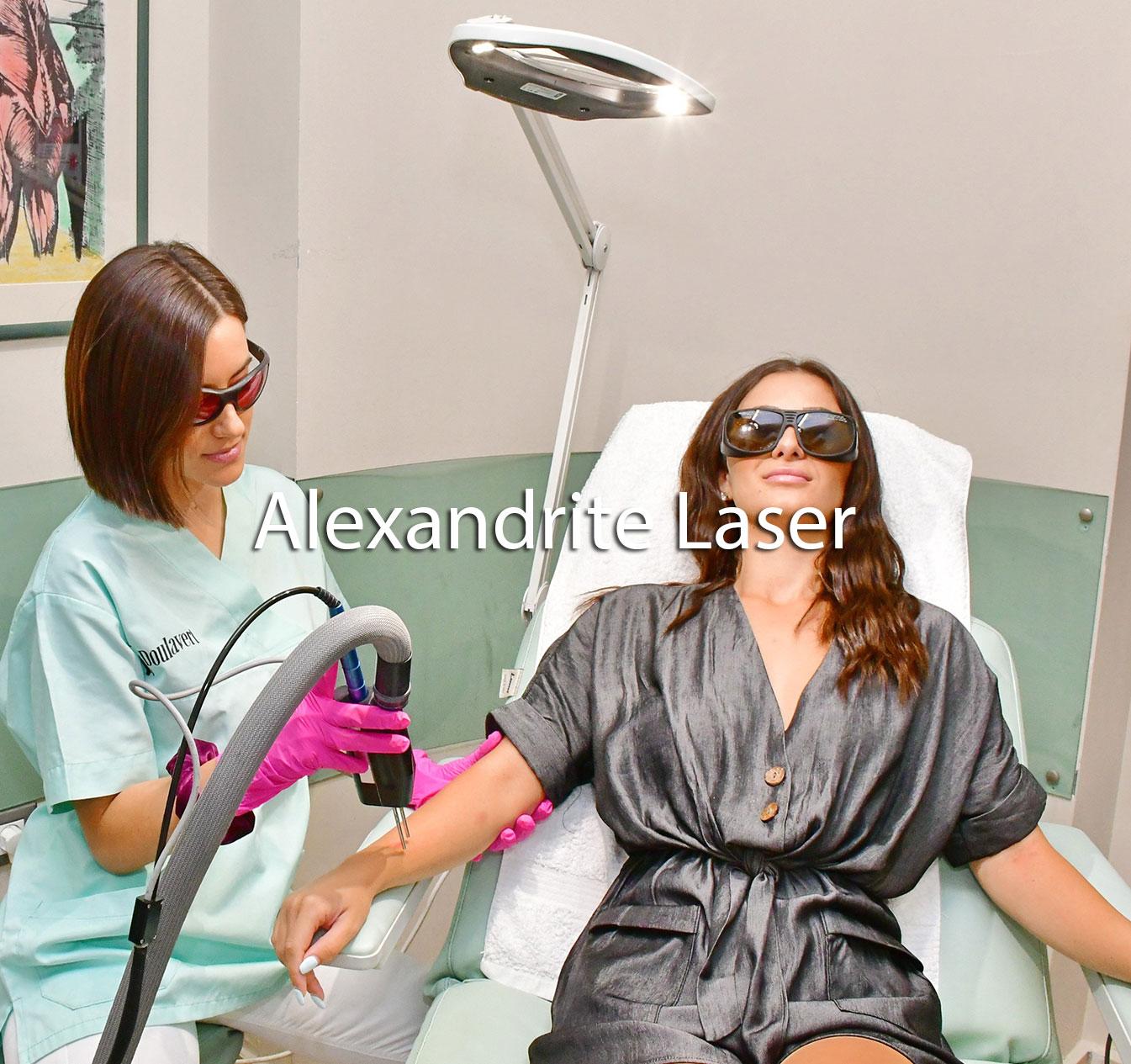 Alexandrite-Laser